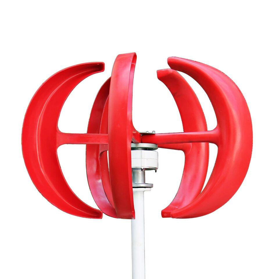 b5d1a8107dd Alternador para generador de viento generador eolico 300 W 12 24vdc  generador de viento de eje vertical vawt + regulador impermeable en  Generadores de ...