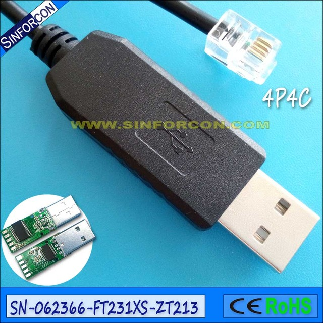 usb serial to rj10 cable for meade etx 90 etx 125 lxd75 lx80 lx90 meade 505  pc to autostar cable audiostar cable-in computer cables & connectors from