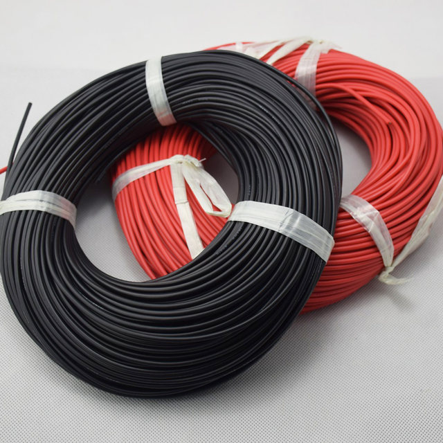 Online Shop 20 Meter 16 AWG Gauge Silicone Wire Flexible Stranded ...
