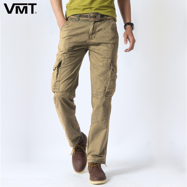 Hot Sale Men's rugged cargo pants regular fit Milltary Pants Tactical Casual trousers Size:28-38