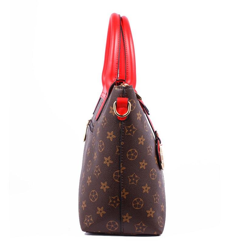 woman shoulder bags designers brand laidies italian handbag vintage rivet  logo women leather bag top quality women messenger bag-in Shoulder Bags  from ... 845f5d65b7
