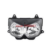 Motorcycle Clear Lens Headlamp Headlight Assembly Kit For Kawasaki Ninja 650R ER-6F 2006 2007 2008 Replace OEM Part # 23007-0057