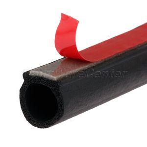 Image 5 - Bande détanchéité en caoutchouc, 8 mètres, petite bande détanchéité en forme de D, isolation phonique, Anti poussière, pour coffre de voiture