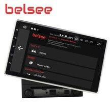 Belsee Универсальный Android 9,0 автомобильный радиоприемник 10,1 «ips экран головное устройство 2 Din стерео автомобильный радиоприемник с Bluetooth gps навигация аудио плеер