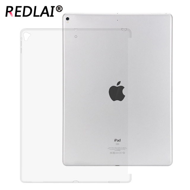 Redlai For iPad pro 12.9 2017 A1670 A1671 back case compatible with Smart  keyboard TPU Silicone c5a03b8c7e1