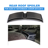 Carbon Fiber Rear Roof Wing Tail Spoiler for Audi A1 8X PQ25 2Door Hatchback 2010 2014 Car Styling Accessories