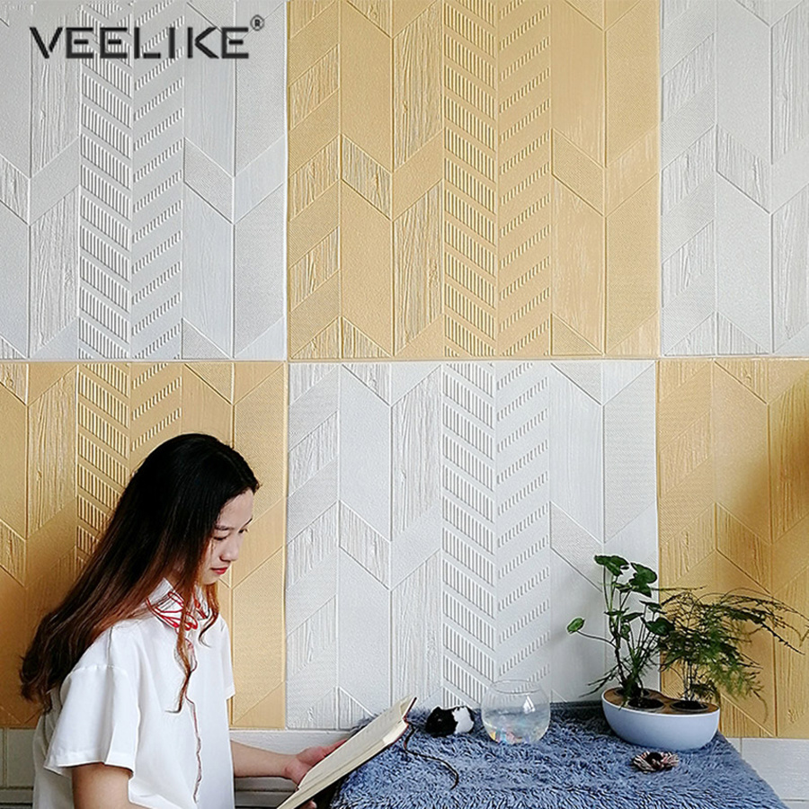 Us 14 99 40 Off Newest Style 3d Waterproof Wallpaper For Library Exhibition Hall Restaurant Self Adhesive Arrow Shape Wall Stickers Decor Murals In