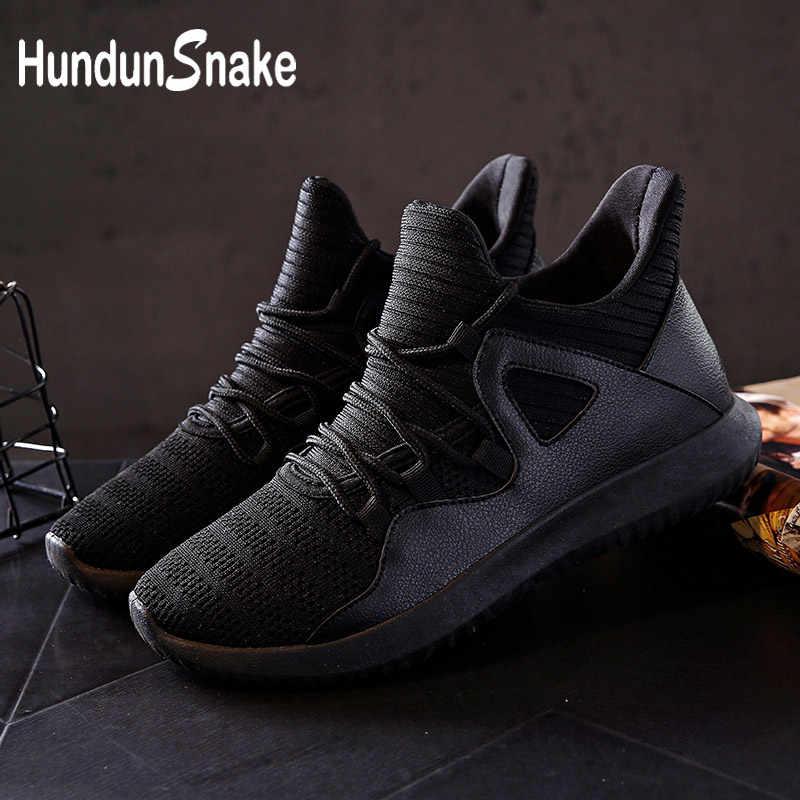 771c25d141b1 Hundunsnake Breathable Sneakers Shoes Men s Running Shoes Men Sport Shoes  Male Black Krassovki Men Tennis Fitness