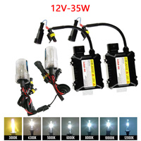 Tonewan New XENON HID Conversion Kit 12V 35W H1 H3 H7 Lamp Slim Ballast Car Headlight