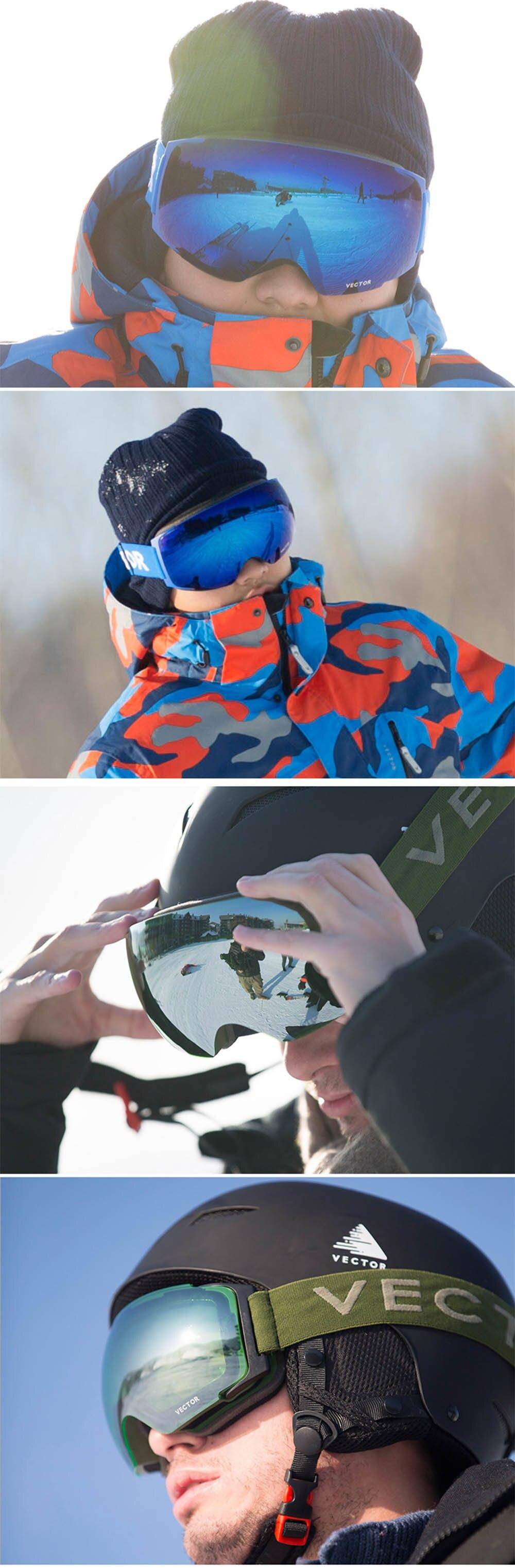 Otg men ski snowboard óculos de proteção