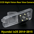 Car rearview camera for Hyundai ix25 2014~2015 CCD BackUp Reverse Parking Camera night vision waterproof