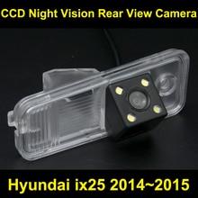 Заднего вида автомобиля Камера для Hyundai ix25 2014 ~ 2015 CCD обратный парковка Камера ночного видения водонепроницаемый