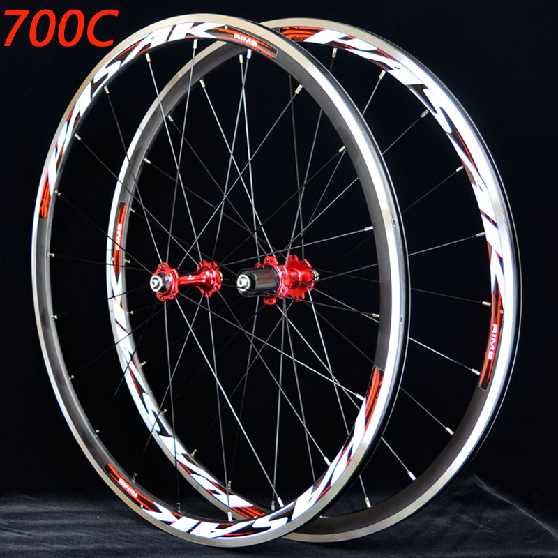 цены PASAK Bike wheelset 11 speed Road Bicycle wheelset 700C Sealed Bearing ultra light Wheels