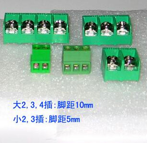 Free Shipping!!! 4pcs Trinity Socket Pin Pitch: 5mm / 5.0MM Socket / Electronic Component