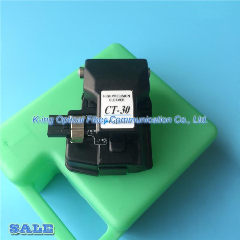 Hecho en china Fujikura de fibra cleaver CT-30 de alta precisión Cleaver con el caso de fibra óptica cuchillo de corte CT-30A de fibra Cleaver