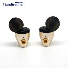 DIY MMCX metalowe magnetyczne DD dynamiczne słuchawki douszne odpinany Mmcx kabel do Shure słuchawki SE215 SE535 SE846 dla IPhone Xiaomi