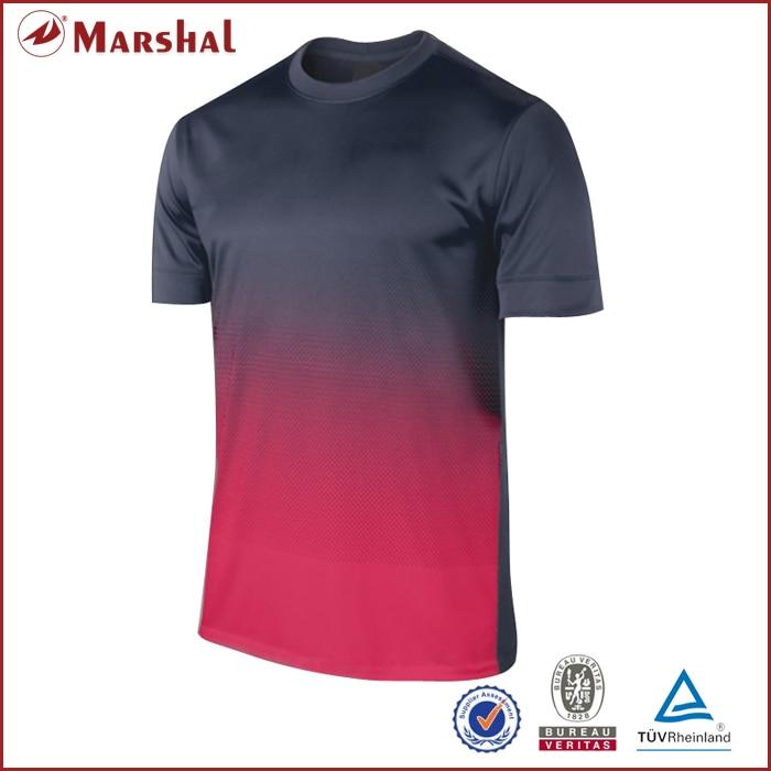 Novo design de cores gradientes Tops Nome Personaliza Logotipo do Futebol  Dos Homens 785c47b231bba