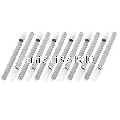12 Pcs 3mm Shank Dia Mounted Grinding Deburring Point Polishing Tool 100 pcs 3mm shank mounted grinding cylinder point polishing tool 8mm dia tip