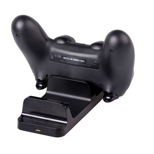 Image 2 - Dual USB Charging Charger Dock Stand Charging Station for Sony PS4 Joystick Controller for Playstation 4