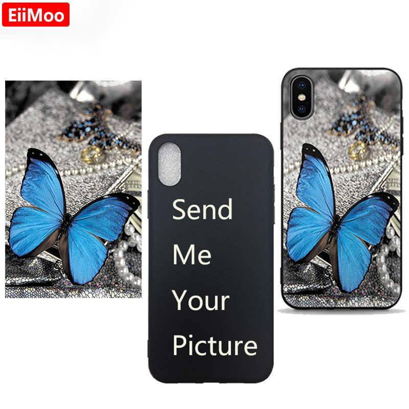 EiiMoo Custom טלפון כיסוי עבור Xiaomi Redmi 6A 5A 10X בתוספת S2 CC9 מקרה התאמה אישית של תמונה עבור Redmi הערה 9S 4 5 6 7 8 T 10 פרו מקסימום