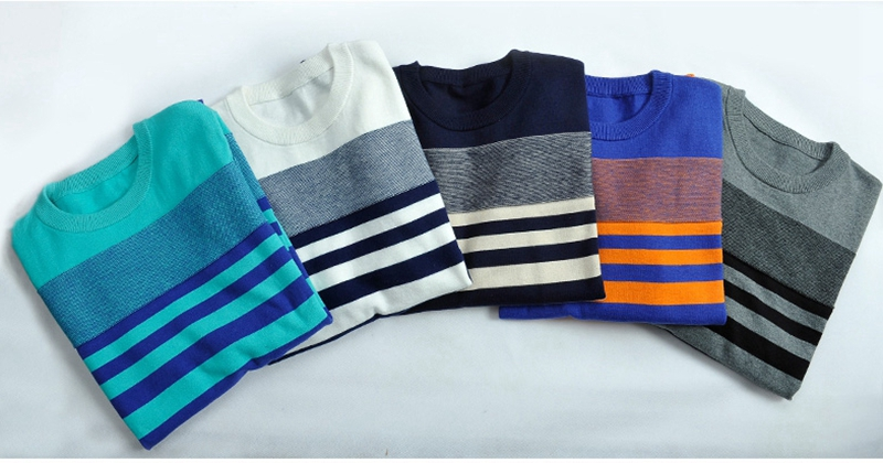 Chrismas Sweater O-Neck Pullover Men Brand Clothing Winter Spring New Arrival Cashmere Wool Sweaters Mens Casual Striped Sweter (25)