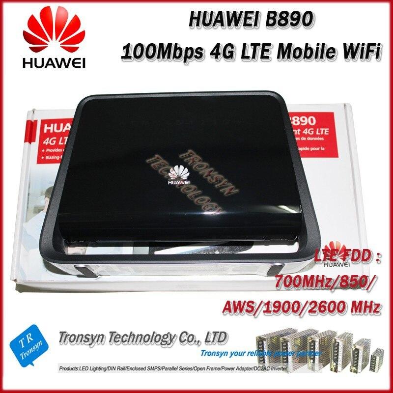 En gros D'origine Déverrouiller 150 Mbps HUAWEI B890 4G LTE Sans Fil Hotspot Gateway Avec Antenne Externe Avec USB, RJ11 et LAN Port