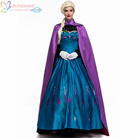 Newest Halloween Carnival Fairy Queen Dreamy Princess Dress Cosplay Costume For Art Photo Annual Meeting Masquerade Party