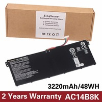 15 2V 3220mAh Original New Laptop Battery AC14B8K For Acer Aspire E3 111 E3 112 E3
