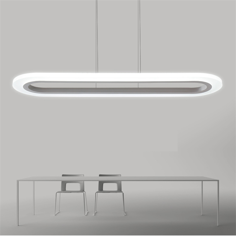 New Creative modern LED pendant lights Kitchen acrylic+metal suspension hanging ceiling lamp for dinning room