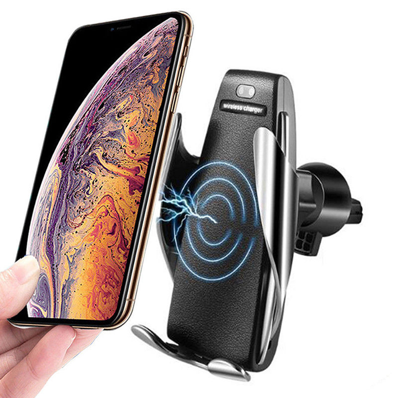 Automatic Clamping Wireless Car Charger 10W Smart Sensor Car Phone Holder Wireless Charger for Samsung S10 iPhone Xs Xiaomi Mi 9Automatic Clamping Wireless Car Charger 10W Smart Sensor Car Phone Holder Wireless Charger for Samsung S10 iPhone Xs Xiaomi Mi 9