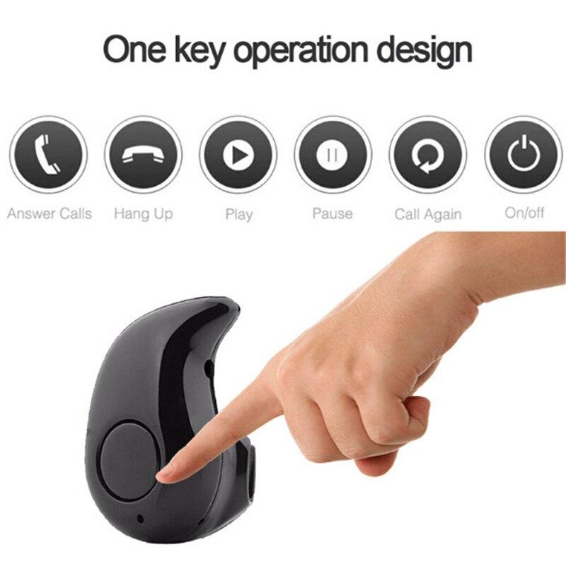 bilder für 20 teile/los Mini S530 Musik In-ear-ohrhörer Drahtlose Tragbare Sport Bluetooth Headset Kopfhörer Mit Mic Für Iphone Xiaomi TV