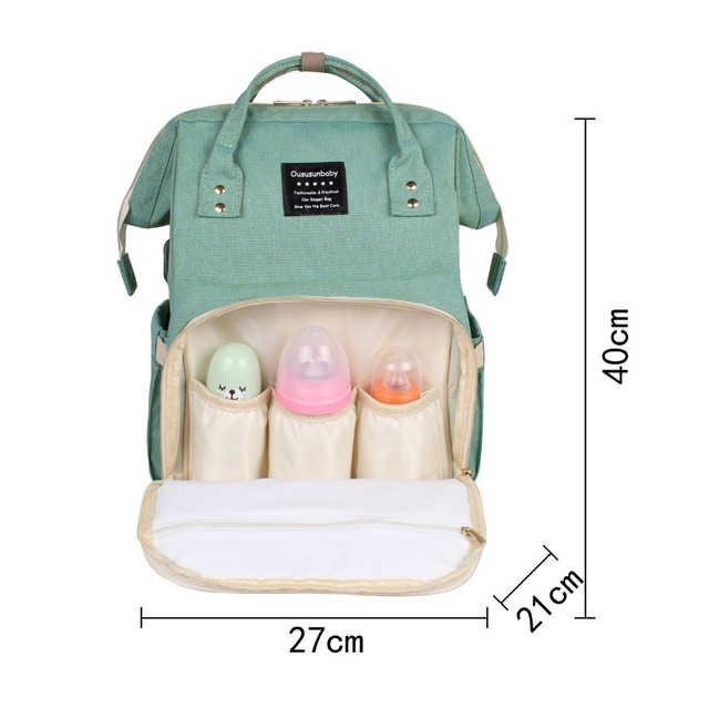 Fashion Large Capacity Diaper Bags
