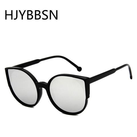 HJYBBSN Round Cat Eye Women`s Sunglasses Water Drip Trendy Vintage Sun Glasses Ladies Ray Bann Mirror Goggle Sunglasses Driver Islamabad