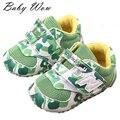 Camuflaje moda bebé recién nacido primeros caminante zapatos de viaje suave Moccs calzado niños Prewalker suave con suela de zapatos de senderismo tyh-40376