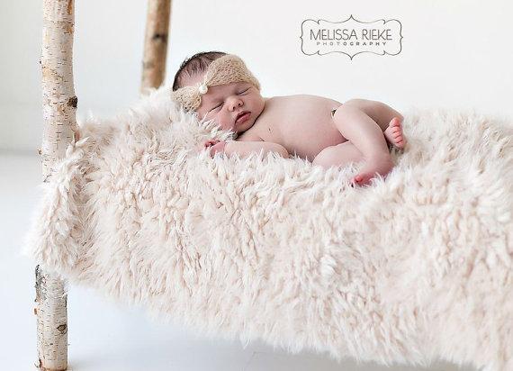 150*100cm Newborn Props Short Faux Fur Newborn Photo Props Artificial Fur, Newborn Baby Photography Props, Basket StuFfeR, Props