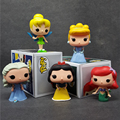 "FUNKO POP Princess Cinderella Tinker Bell Ariel Snow White PVC Action Figure Model Collection Toy Doll 4"" 10CM T394"