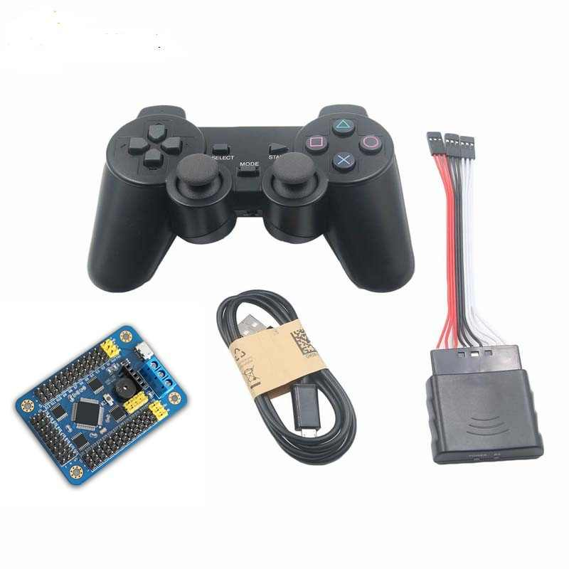 iSmaring new 32 Channel Servo controller Control Board & Robot PS2  Controller & Receiver Handle for Arduino Robot DIY Platform