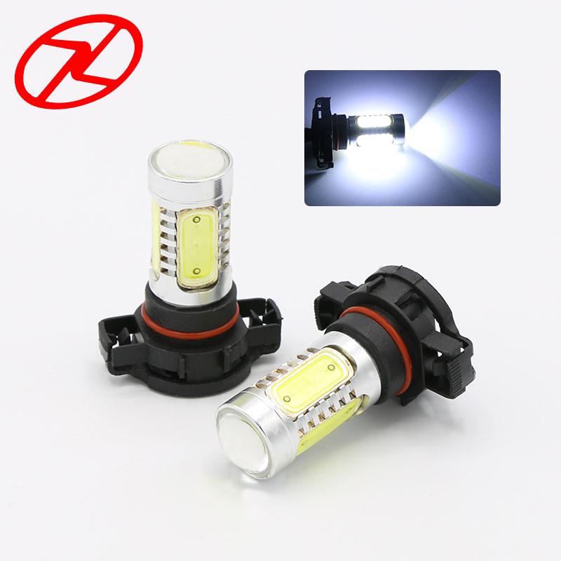 2PCS didelės galios H16 baltos ryškios COB LED lemputės DC 12V 7,5 - Automobilių žibintai