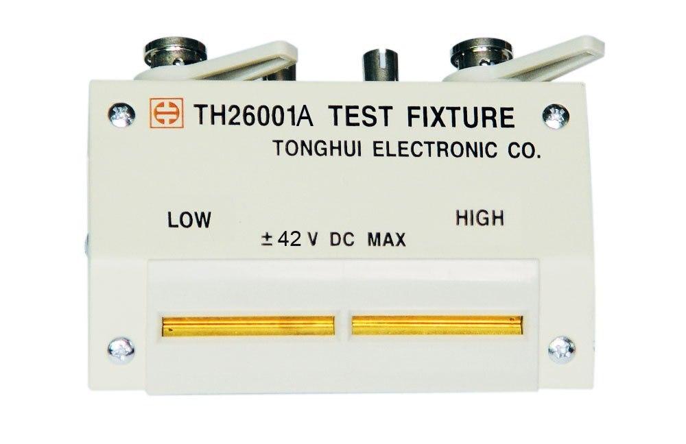 TH26001A Electricity bridge Four end test fixture For bridge capacitance inductance meter Tester electricity market reform