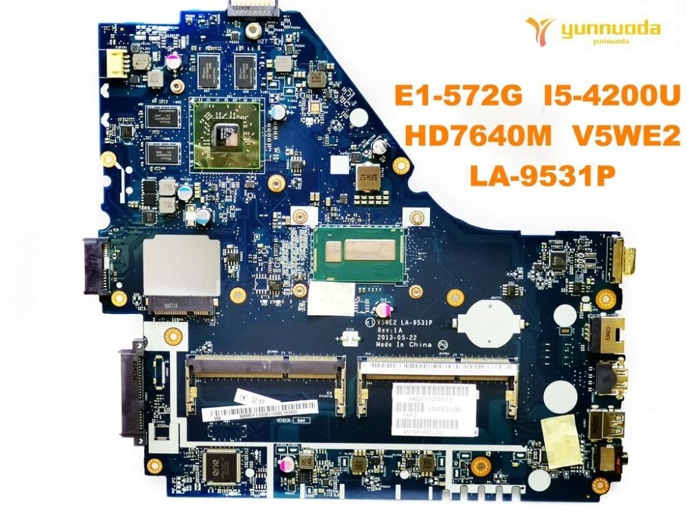 Original for font b ACER b font E1 572G laptop motherboard E1 572G I5 4200U HD7640M