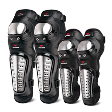 WOSAWE Hard Shell Moto Knee Pads Set Brace Support Sports Off Road Guard MTB Snowboard Kneepad Hockey Motorcycle Protection Kits