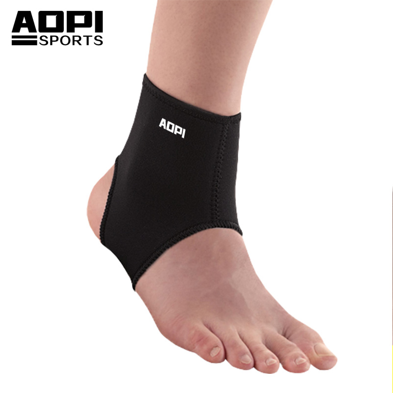 AOPI 2 pcs/lot Standard Ankle Support Brace Protector Foot Stabilizer Wraps Ankle Guard Bandages for Running Basketball Riding