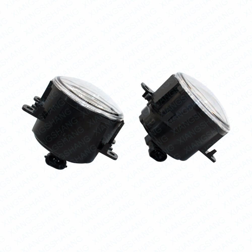 Светодиодные Передние противотуманные фары для Рено Меган 2 седан LM0 за моделями lm1 2003-2015 стайлинга автомобилей бампера высокая Яркость DRL вождения противотуманные фары 1 компл.