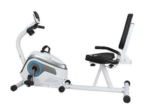 Burning calories gym indoor exercise magnetic bike with seat easy handling