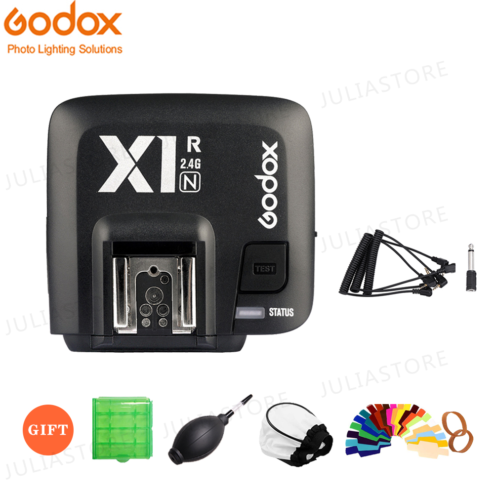 Godox X1R N 2 4G Wireless Receiver For X1N Trigger Transmitter Nikon DLSR D800 D3X D3
