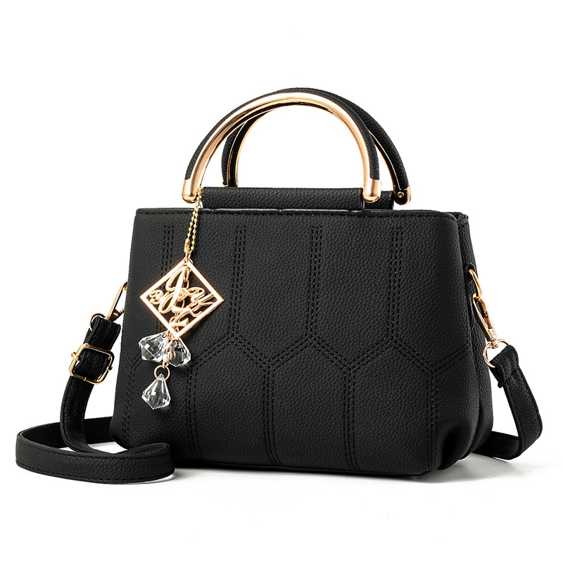 2018 Zipper Single Flap And Summer New Handbags Japan South Korea Version Of The Simple Small Square Package Trend Shoulder Bag