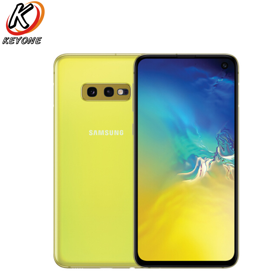 New Samsung Galaxy S10e G970F DS 4G LTE Mobile phone 5 8 6GB RAM 128GB ROM