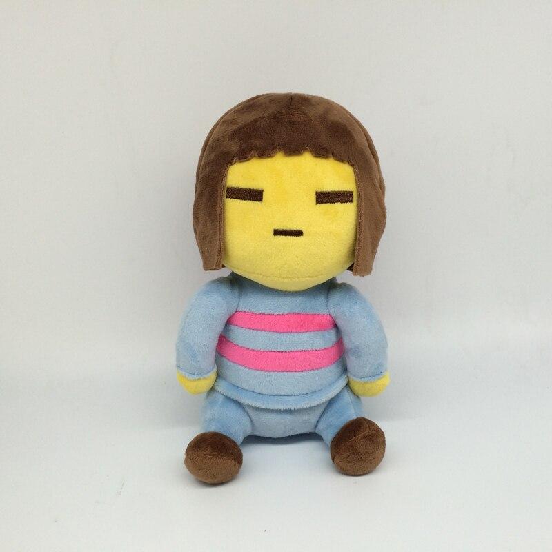 2pcslot 20cm Undertale Chara Frisk Stuffed Plush Toys Doll Cute