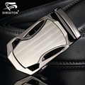 DINISITON Men Belts Automatic buckle Belt cowhide Leather Strap Designer Quality metal Belts Men High Luxury Jeans Waistband