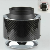 car styling Carbon Fiber Cold Feed Induction Kit Air Intake Kit Air Filter Box Air Filter For vw golf 4 5 6/ford focus 2 3